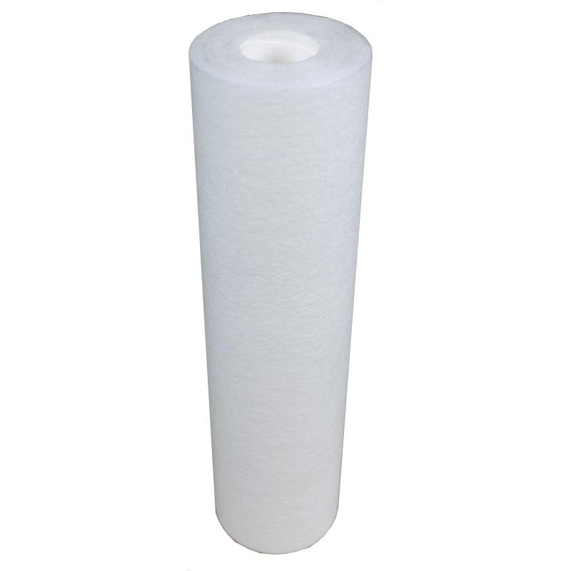 Format Standard Universel 9/'/' 3//4 Dur/ée : 1 an Lot de 3 Cartouches Filtrantes SPUN pour Filtre /à Eau Filtration des S/édiments sable rouille 25 microns