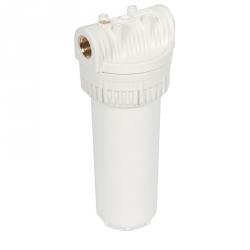 Porte filtre blanc opaque 9'' 3/4
