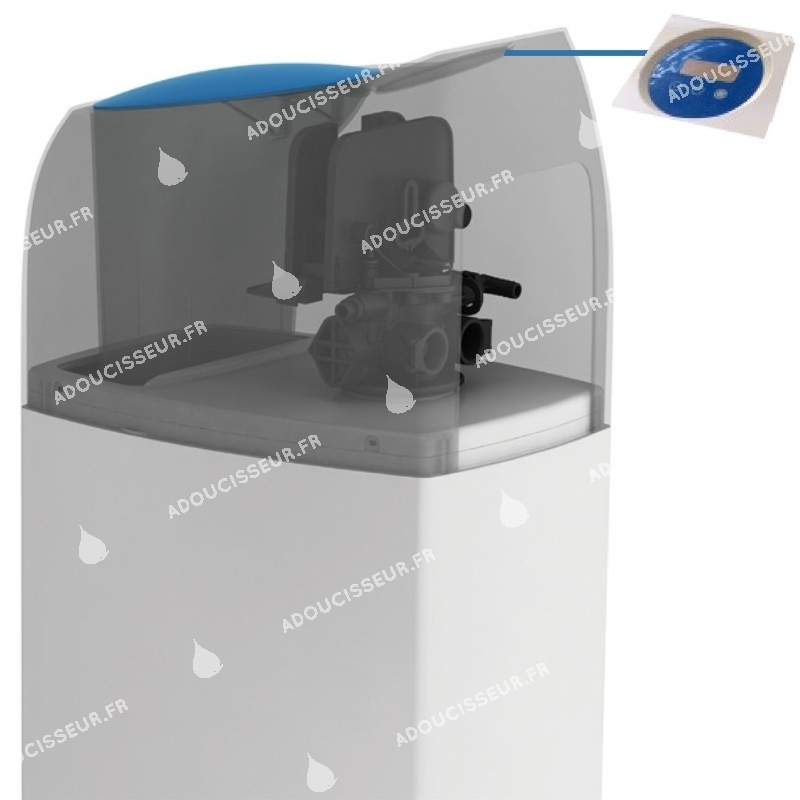 Adoucisseur d 39 eau fleck 5800 sxt evolio 22l boutique aqua2000 - Adoucisseur d eau fleck ...